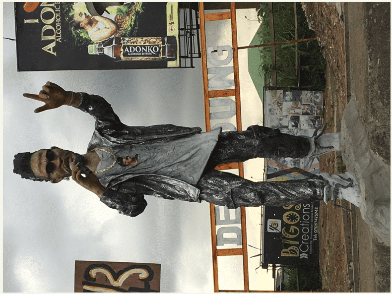 Phyno's Statue spotted