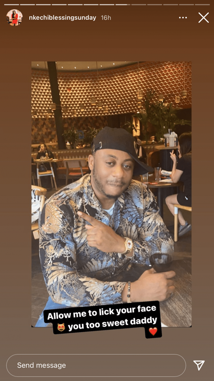 Nkechi Blessing and politician boyfriend Opeyemi