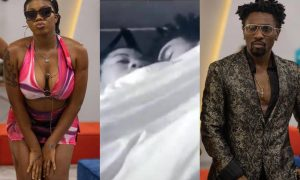 BBNaija: Just like Erica and Kiddwaya, Boma, Angel caught under the sheets (video)