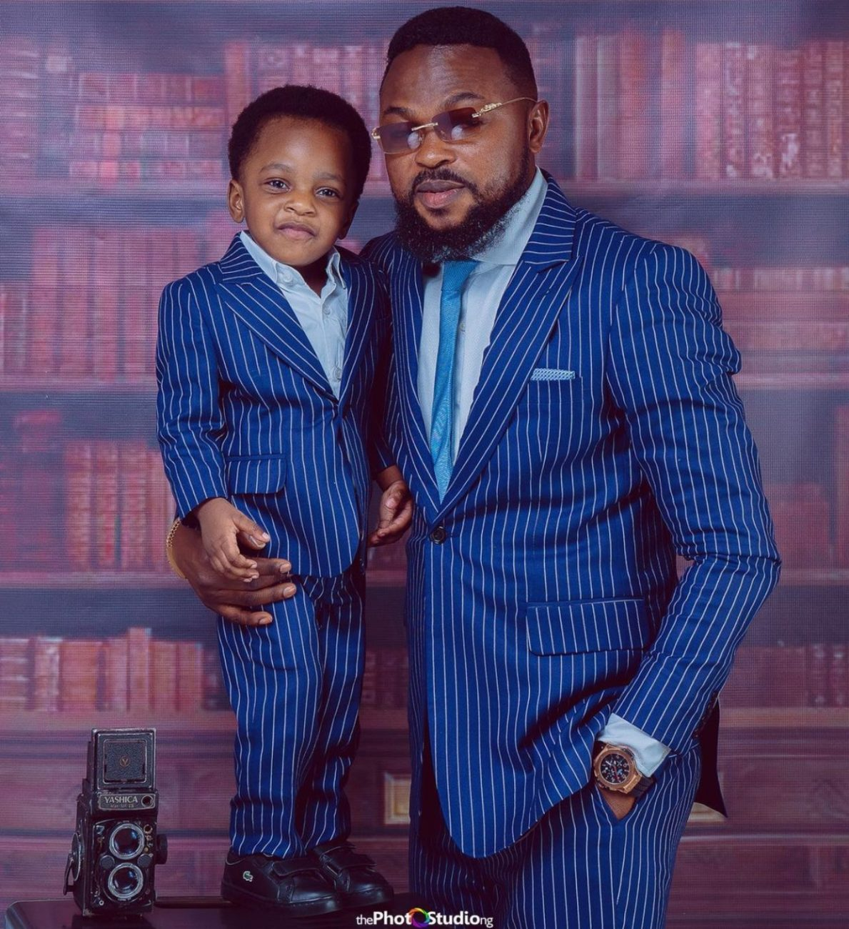 Toyin Abraham blesses the internet shares more photos of Ire on 2nd birthday