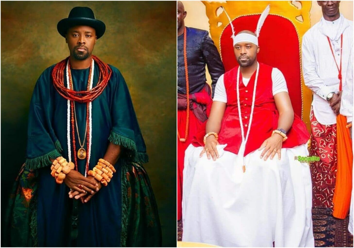 coronation video of Olu of Warri video surfaced online (video)