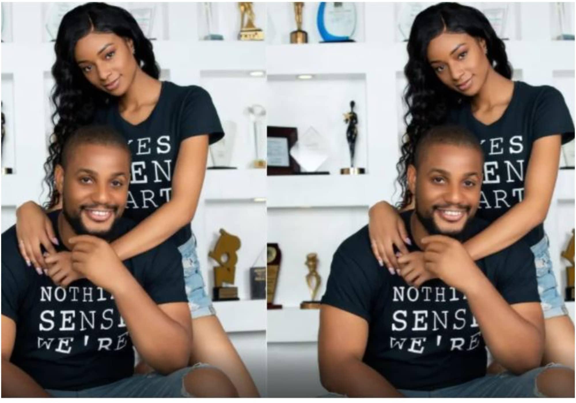 Alex Ekubo and fiancee sparks relationship break up