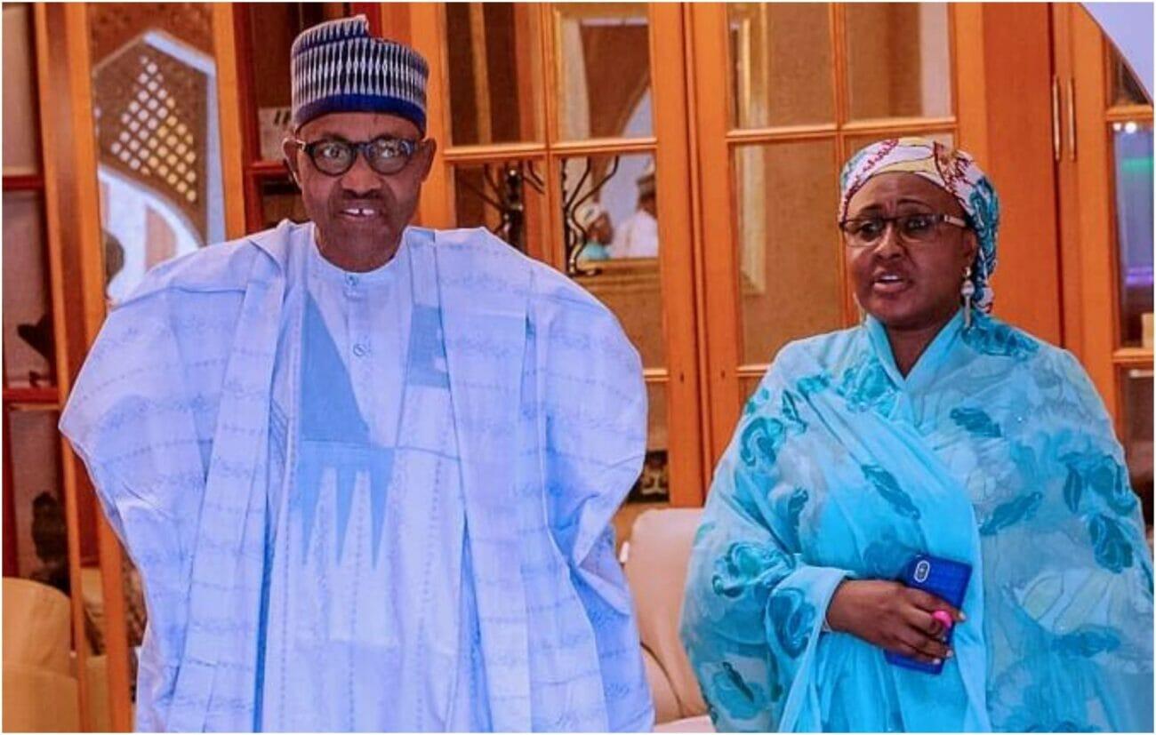 Buhari and Aisha Buhari
