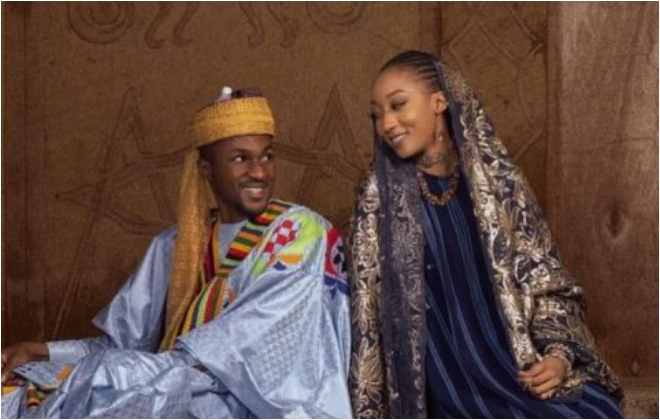 Buhari son prewedding photos