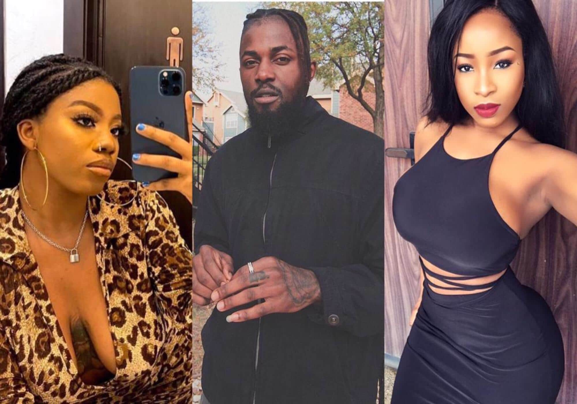 BBNaija 2021: Jackie B confronts Micheal after he 'made love' to Angel