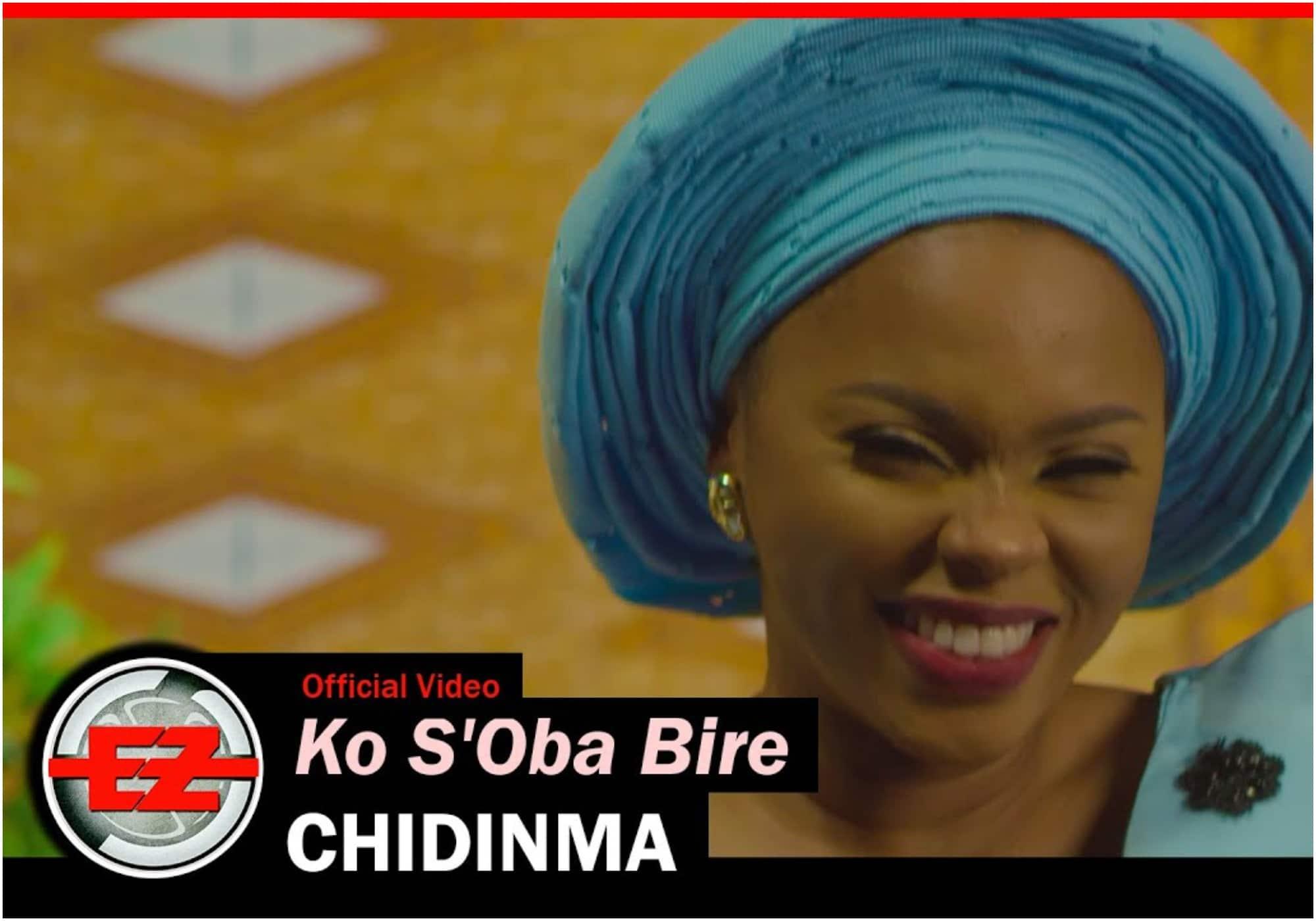 Chidinma - Ko S'Oba bire