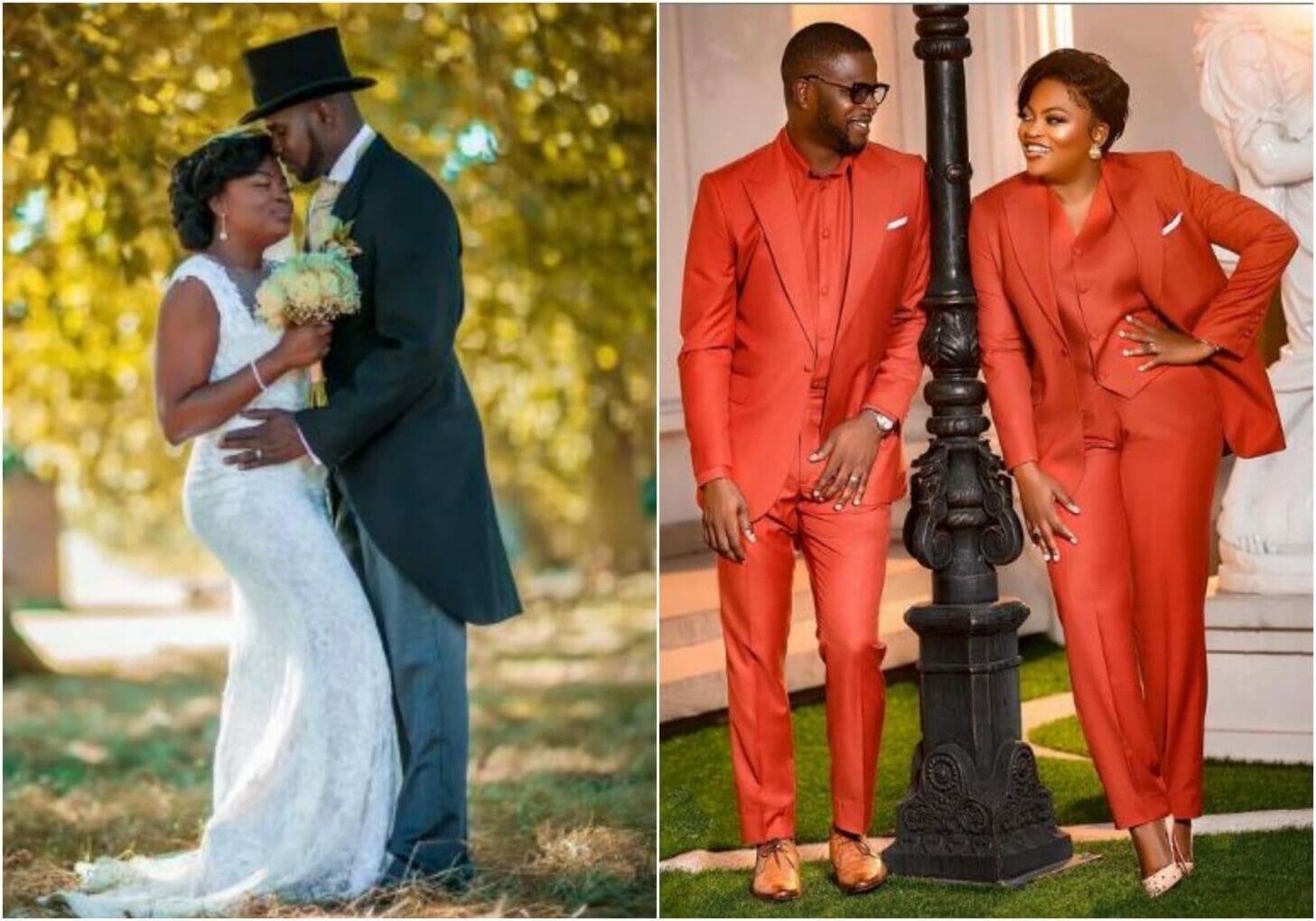 Funke Akindele and husband celebrate 5th wedding anniversary