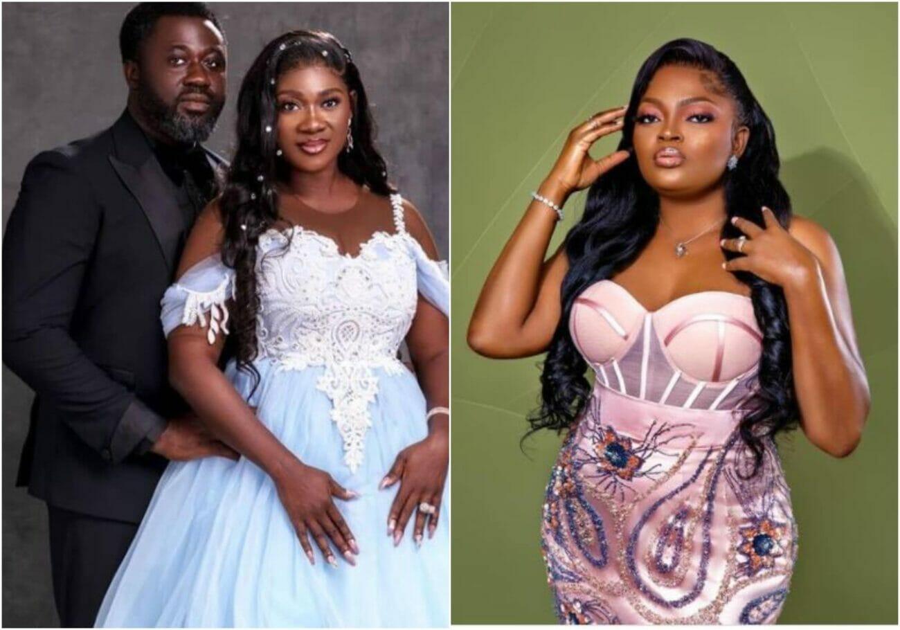 Funke Akindele celebrates Mercy Johnson ast 10th wedding anniversary