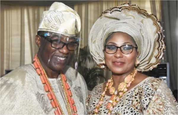 6 million diamond ring  Debola Williams wedding to Gbenga Daniel's daughter