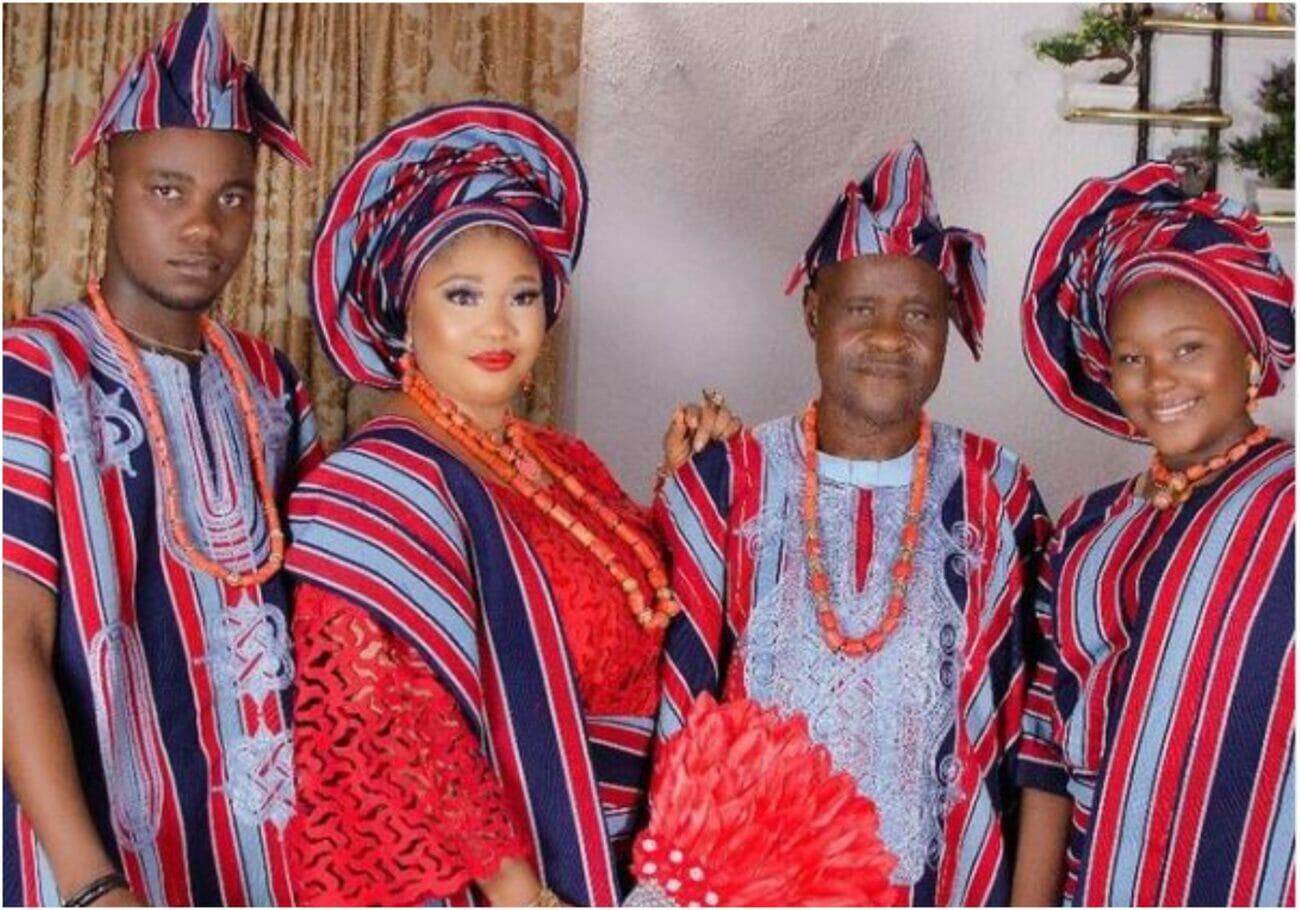 Jaiye Kuti and her husband celebrates21st wedding anniversary