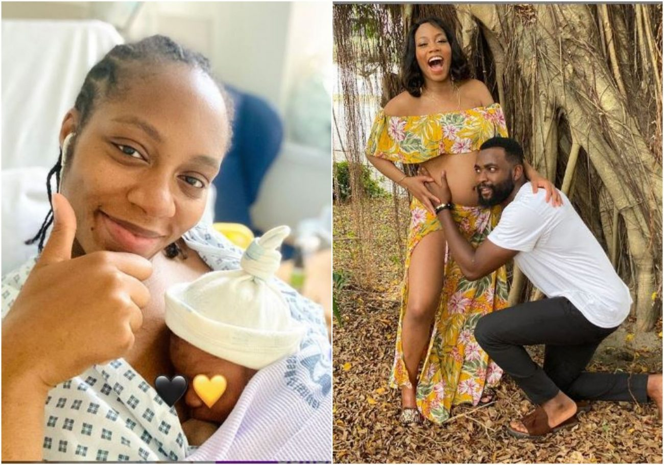 Khafi and Gedoni welcomes a son together