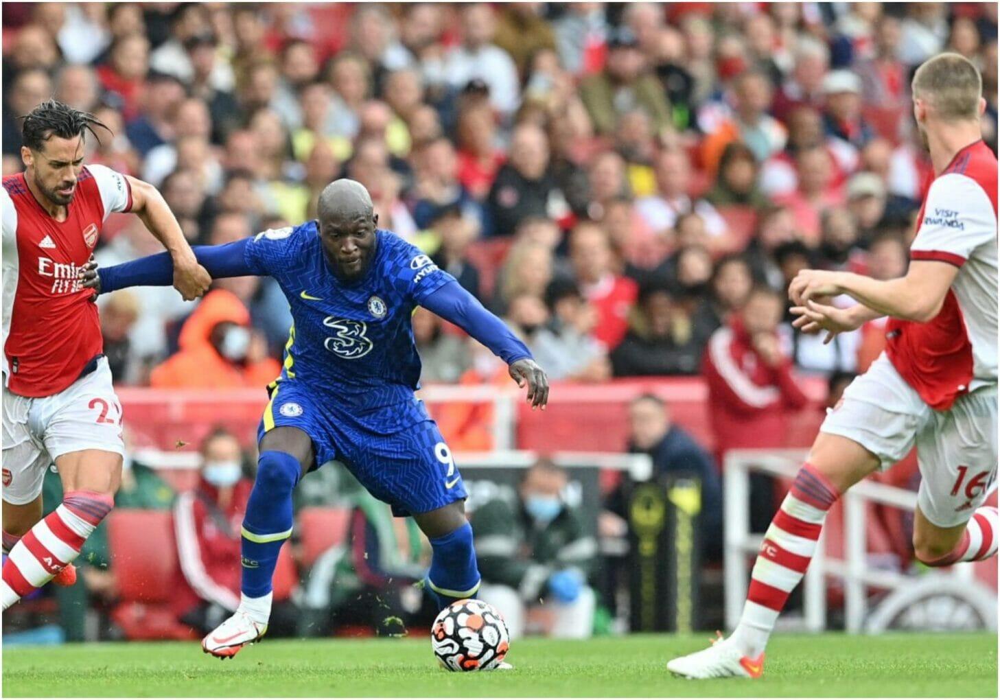 Lukaku vs Arsenal