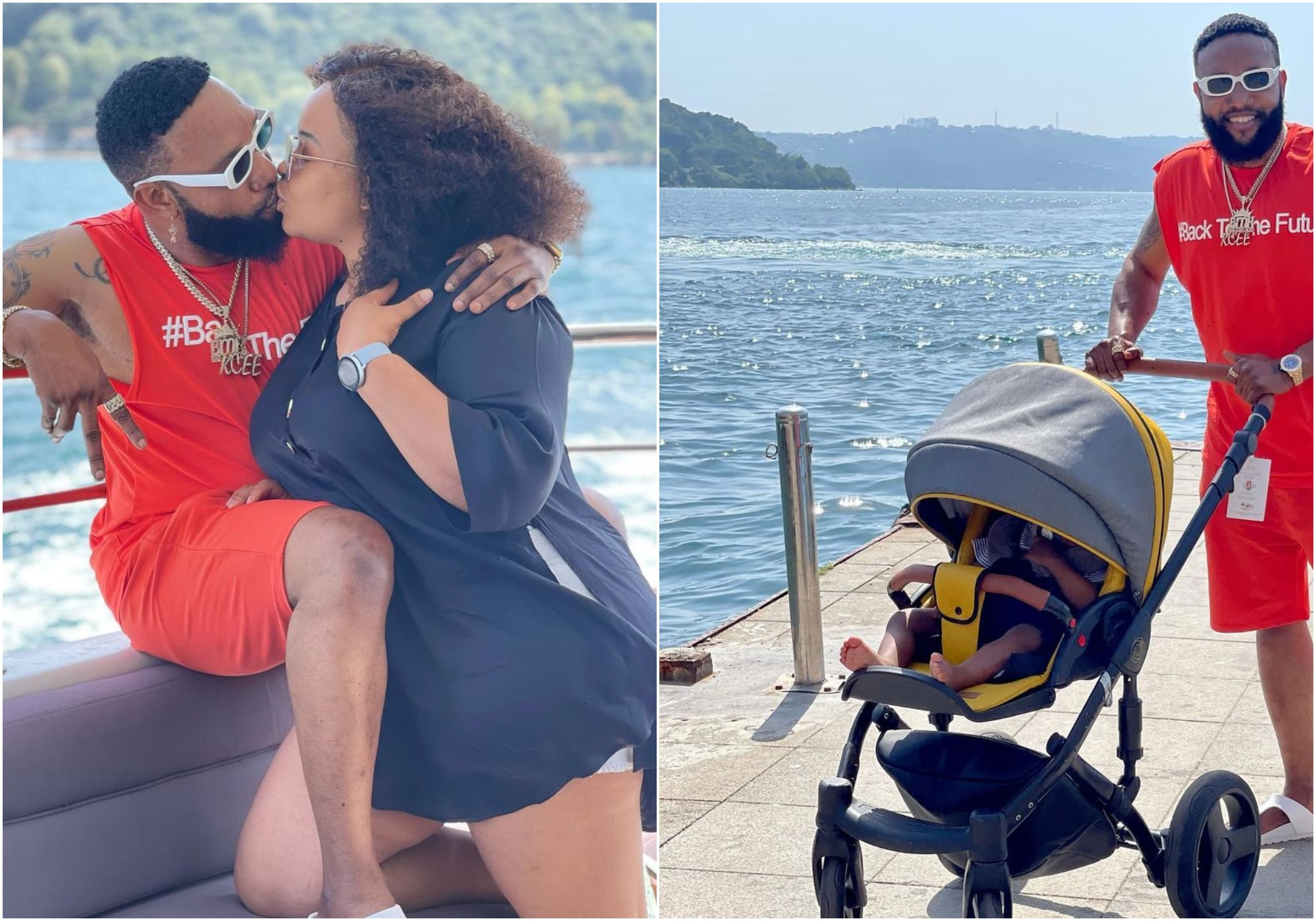 Kcee shares beautiful moments with his family (photos)