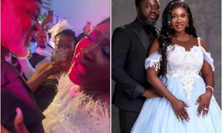 RMD console Mercy Johnson as her husband makes her cry