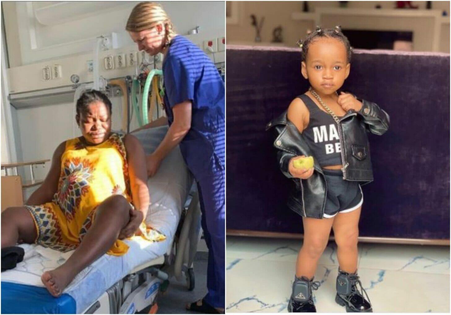Ruth Kadiri reminices on child birth