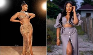 Tacha brags about her outfit