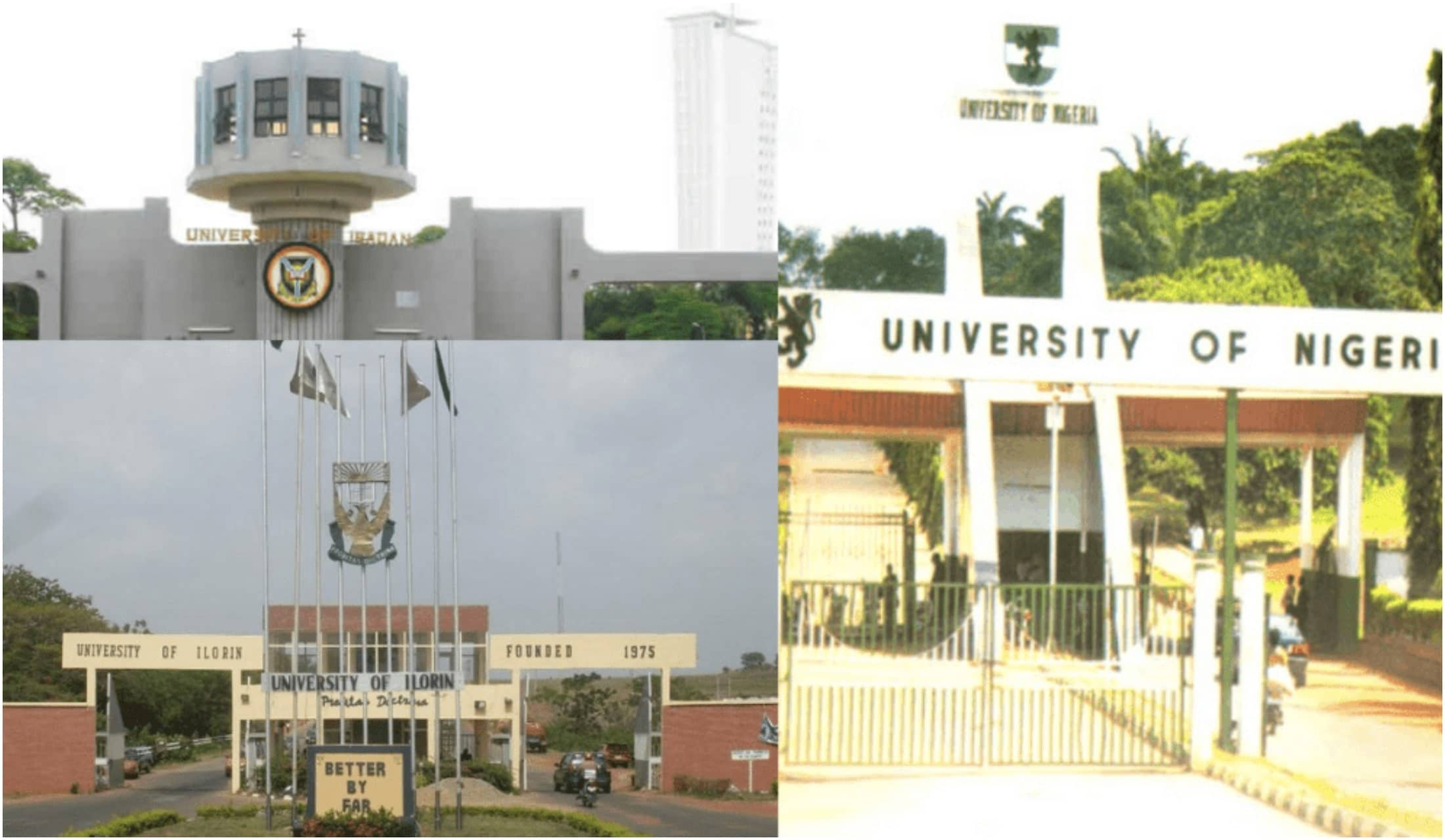 Top 100 university in Nigeria 2021