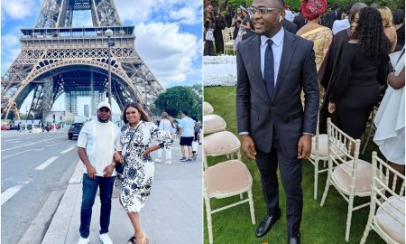 Ubi Franklin babymama cries out after trolls accuse her of shading him