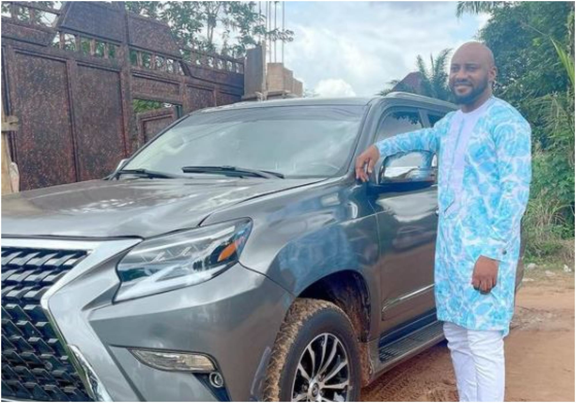 Yul Edochie acqures new car