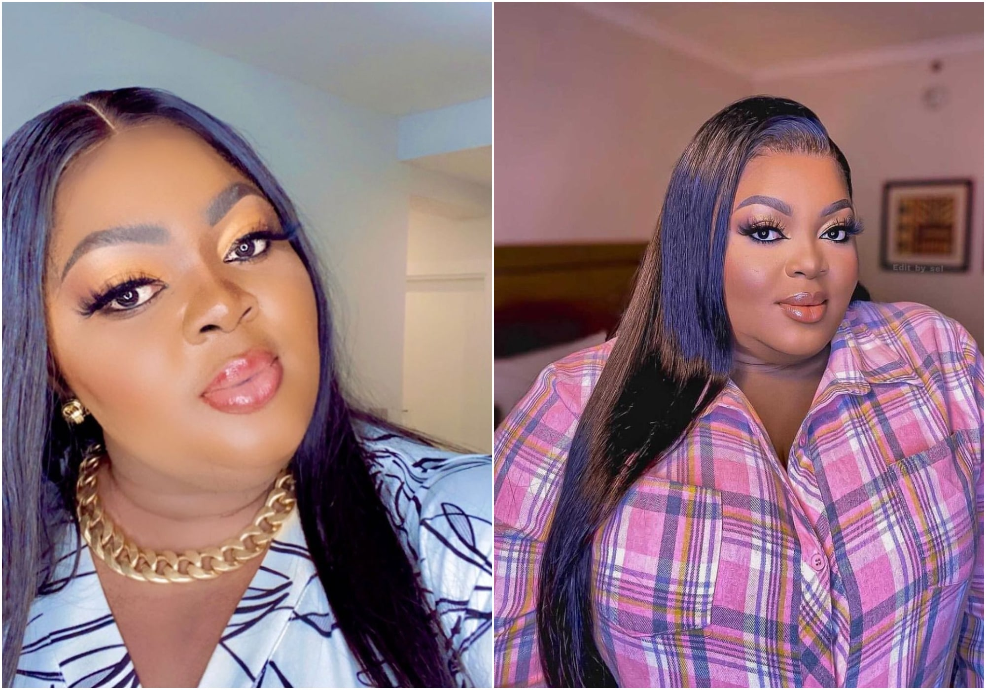 Fans troll Eniola Badmus for checking if 'juju' is in her hotel room