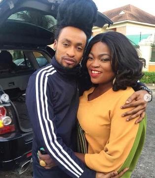 Funke Akindele and Denrele