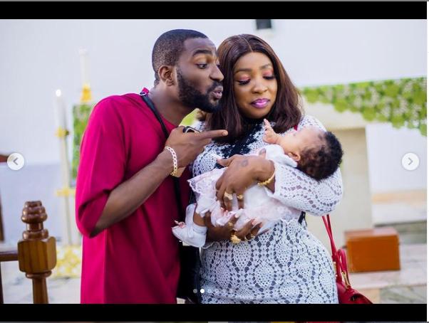 Uche Ogbodo baby dedication