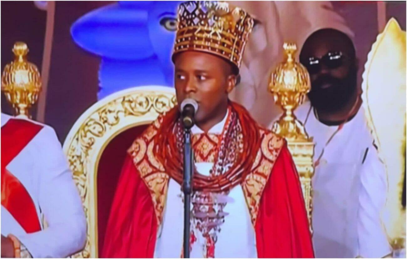 olu of warri coronation