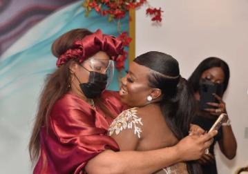 Medlin  fight with Funke Akindele