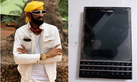 """""""I borrowed money to buy a Blackberry phone to belong"""