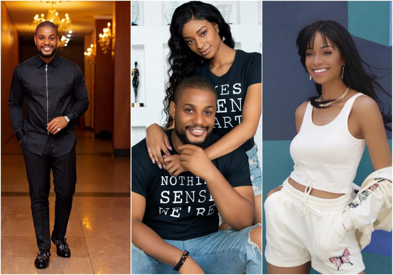 Reactions as Alex Ekubo and fiance reportedly separate a few weeks to the wedding