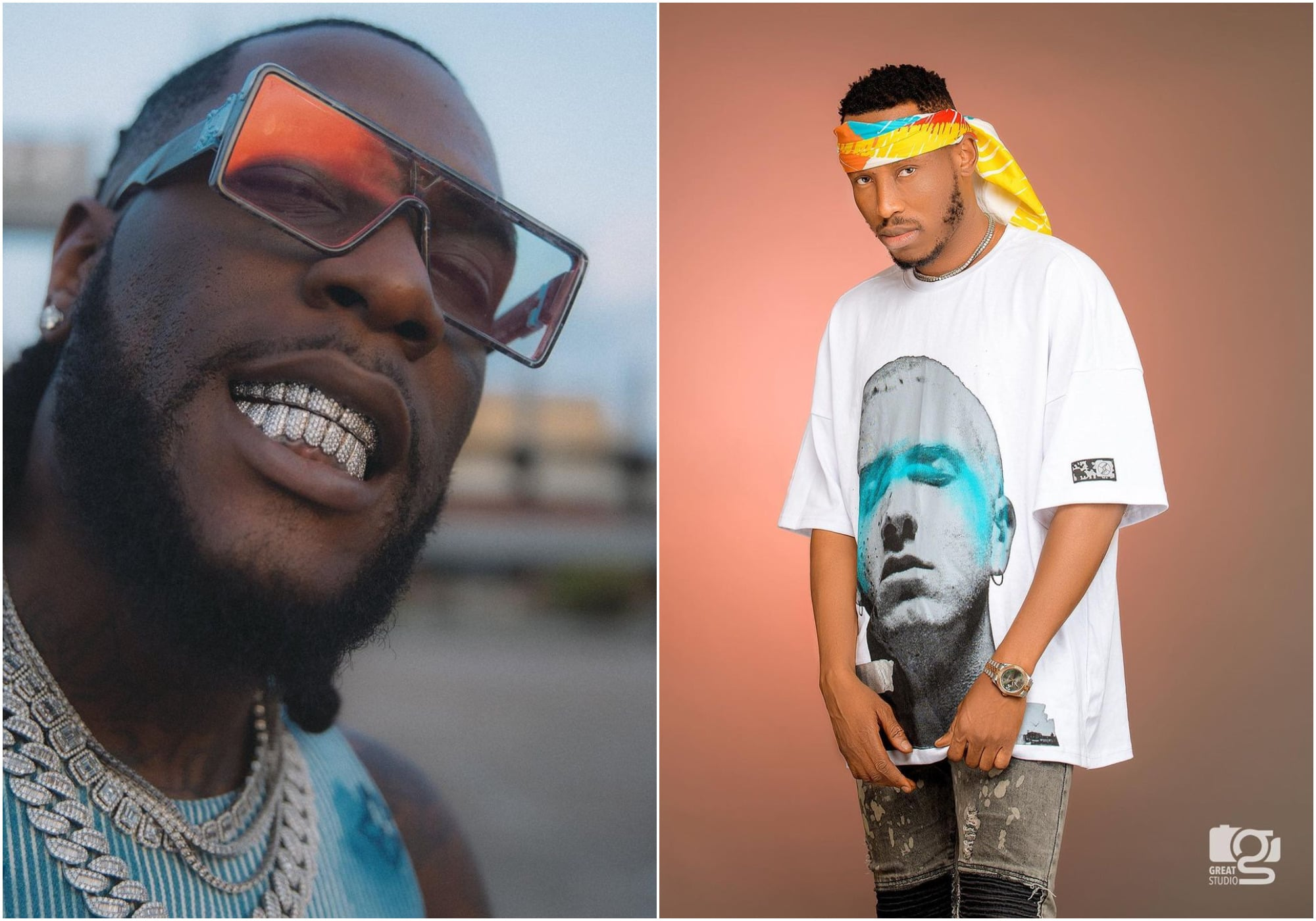 Burna Boy and Mr 2Kay spotted together after four years of messy beef