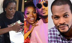 'Jesus is happy,' Uche Maduagwu says as he reaches out to Annie Idibia amid marriage crisis