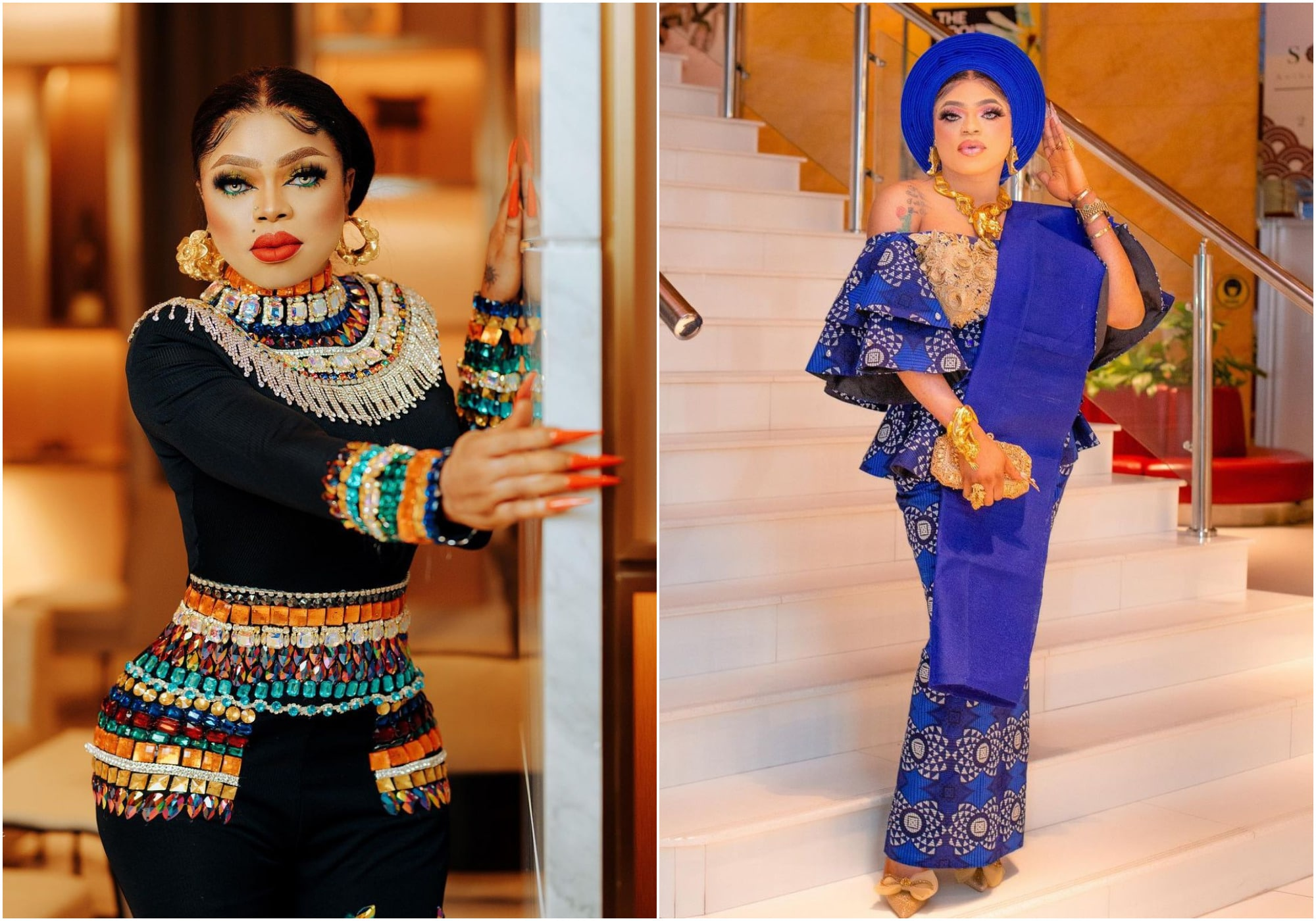 Bobrisky opens up on his love for money