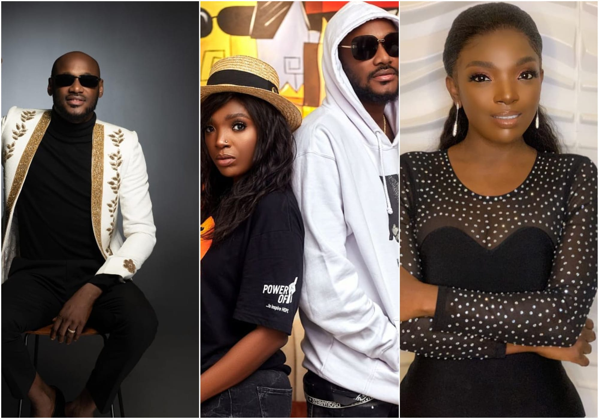 2Face remain silent as wife drags their marriage on social media