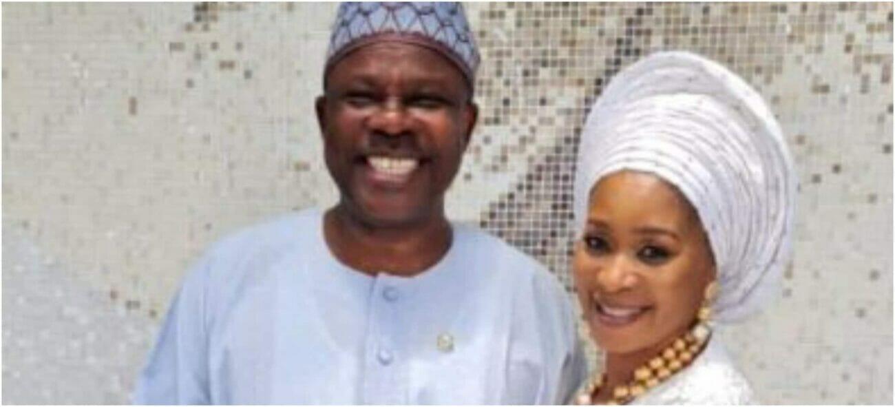 Amosun and wife