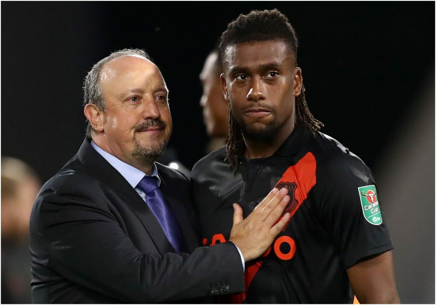 Benitez and Iwobi