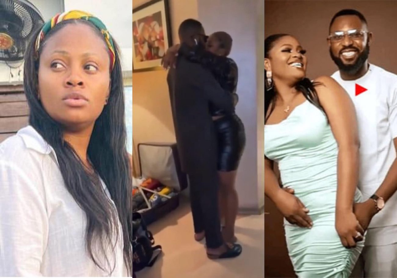 BBNaija: Tega kisses husband as they reunite after her eviction and social media noise