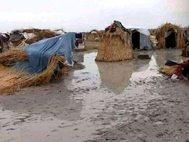 Flood  IDP camp in Benue