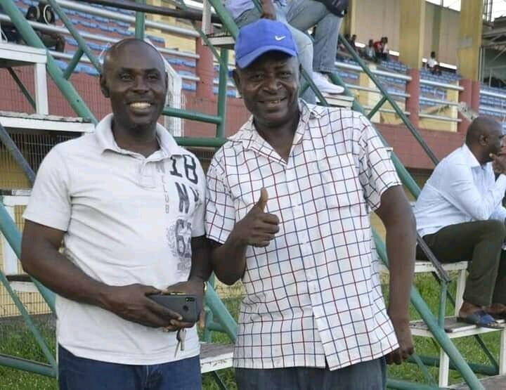 Lobi Stars team manager  Hon. Gabriel Ogwuche