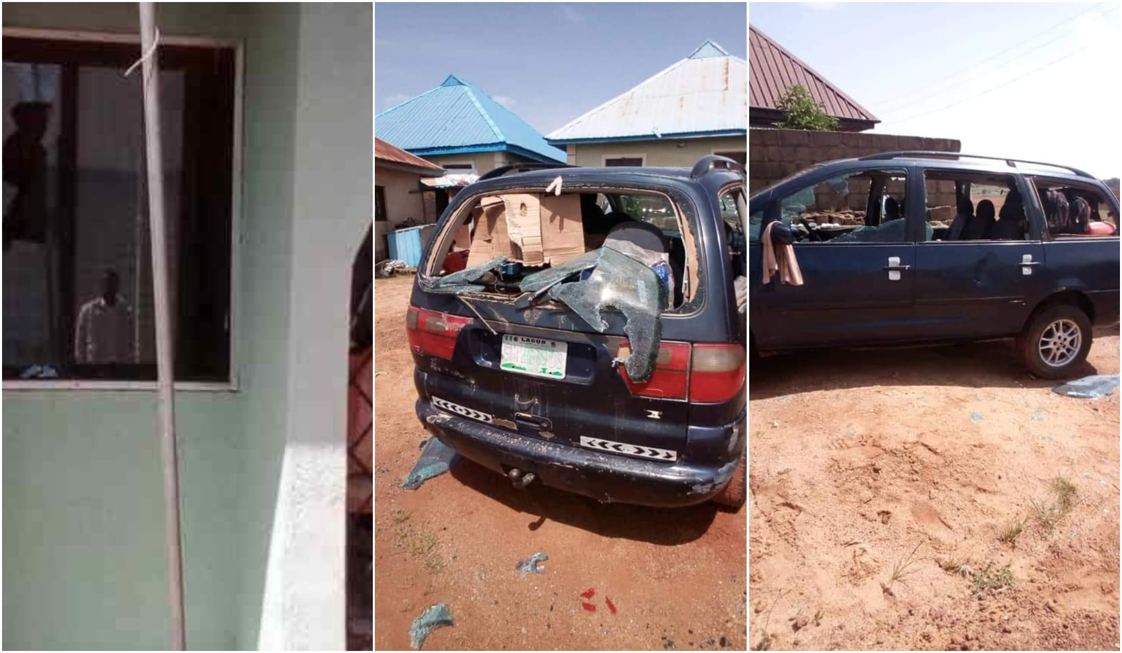 Irate mob destroyed whistle blowers' house