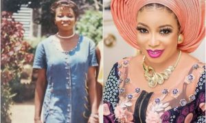 Lizzy ANJORIN SHARES EPIC THROWBACK