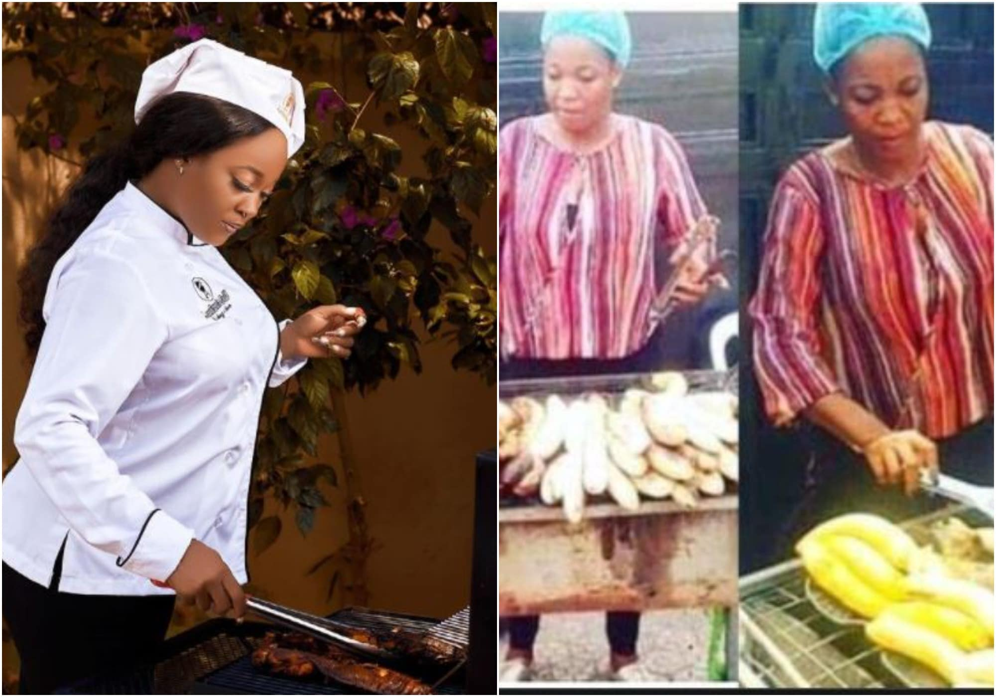 Lucy shares story on selling roasted plantain and fish