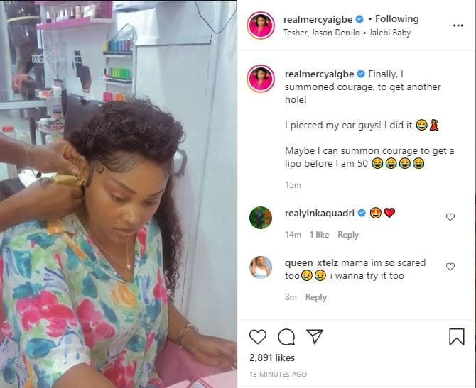 Actress Mercy Aigbe hints at undergoing liposuction before ...