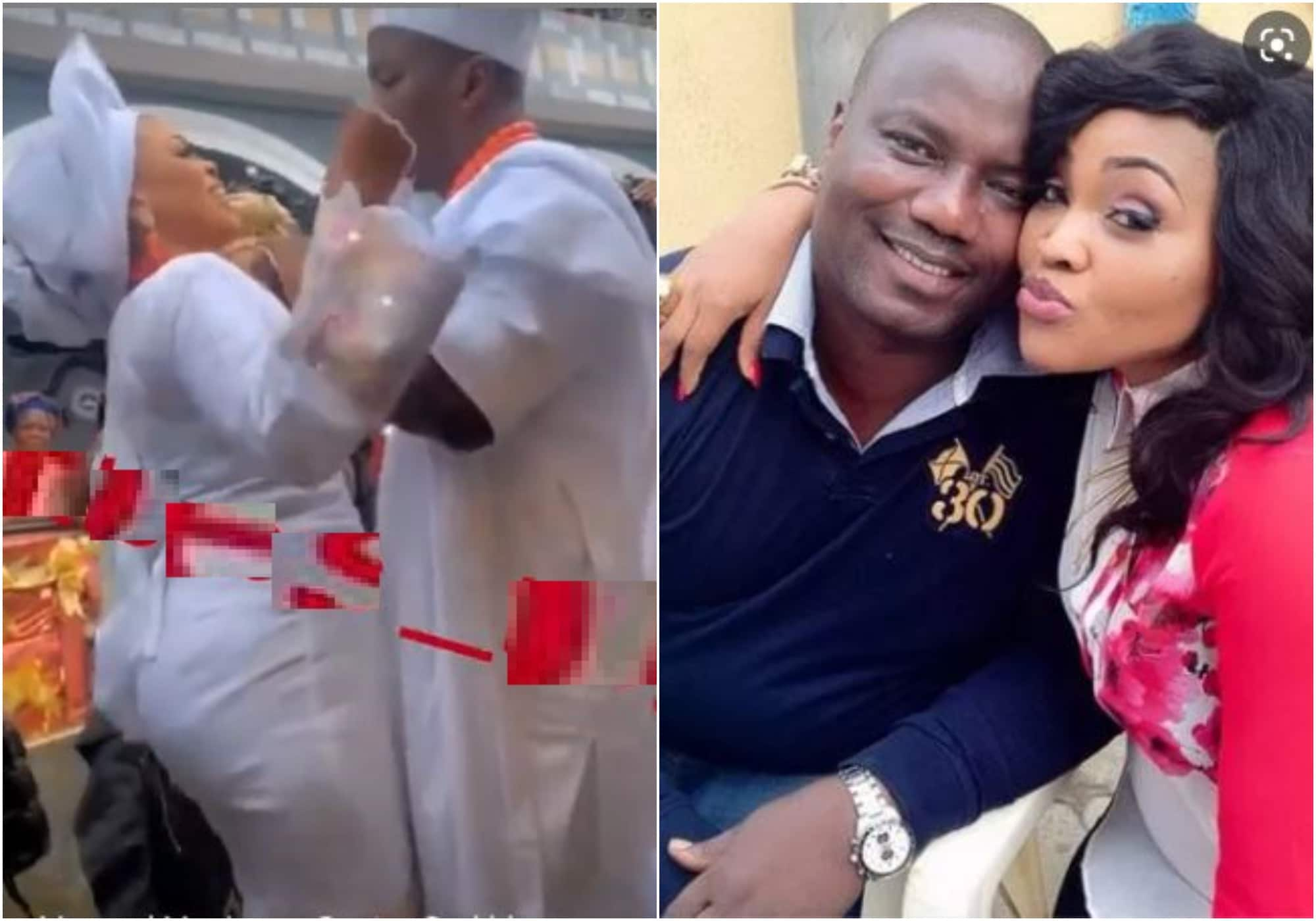 Mercy Aigbe's estranged husband marries