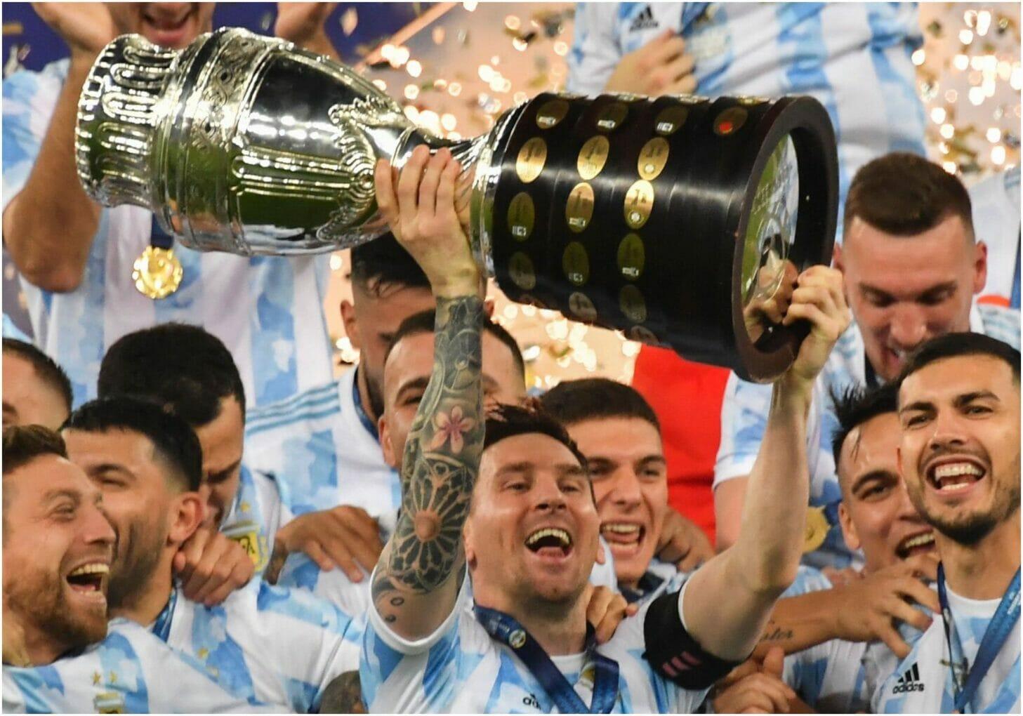 Messi lifts Copa
