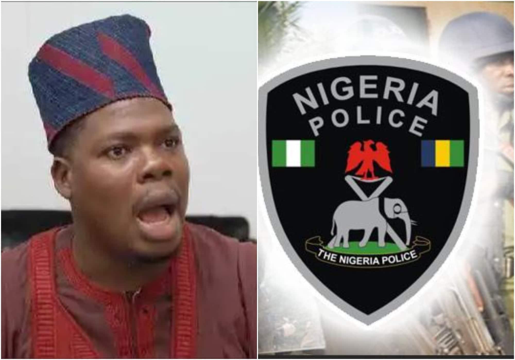 Mr Macaroni drags Nigerian Police force
