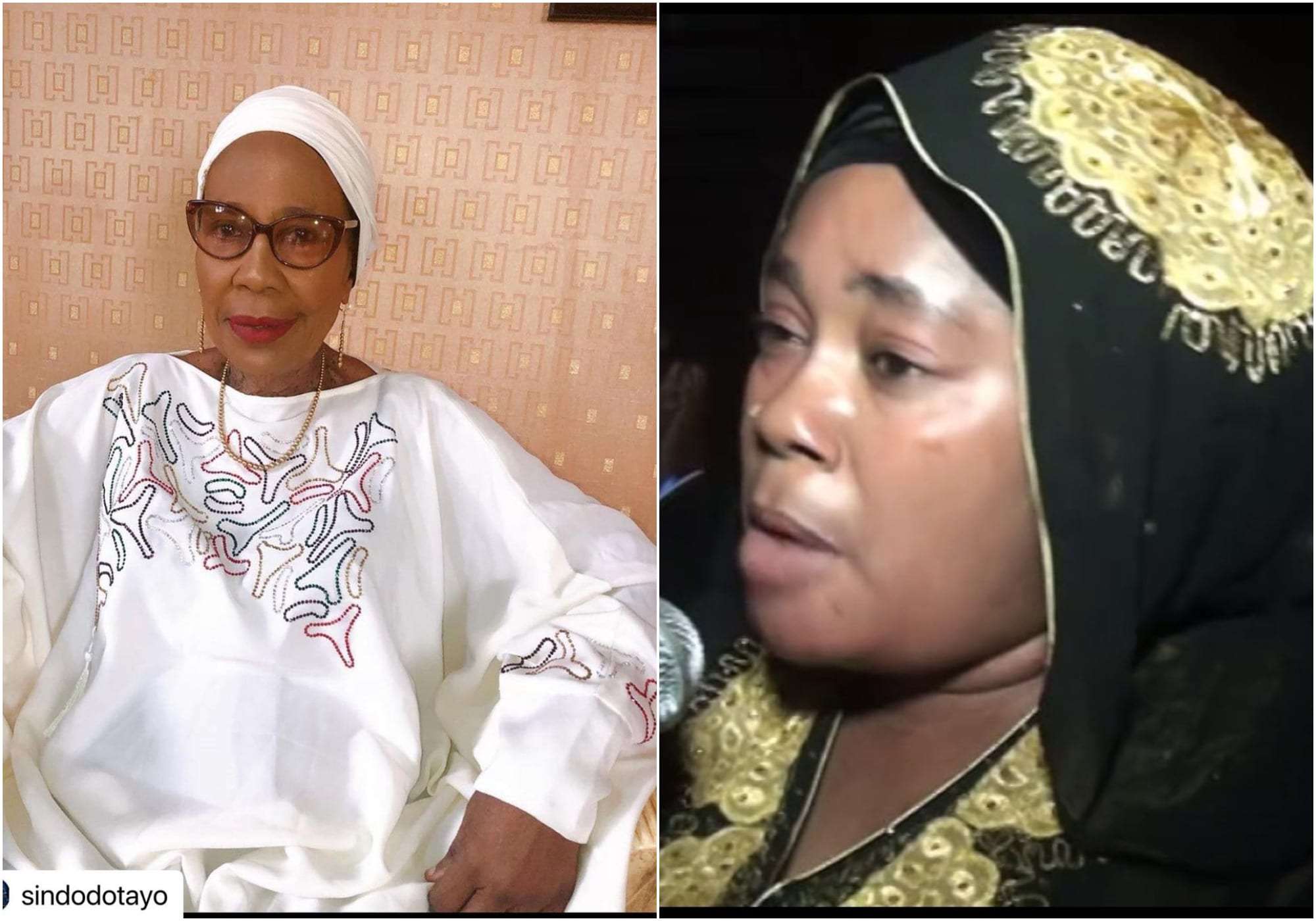 Nollywood stars mourn as death hits Sikiratu Sindodo's house