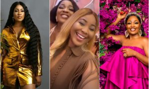 BBNaija: Erica and Lucy Unite at Mercy Eke's Party (video)