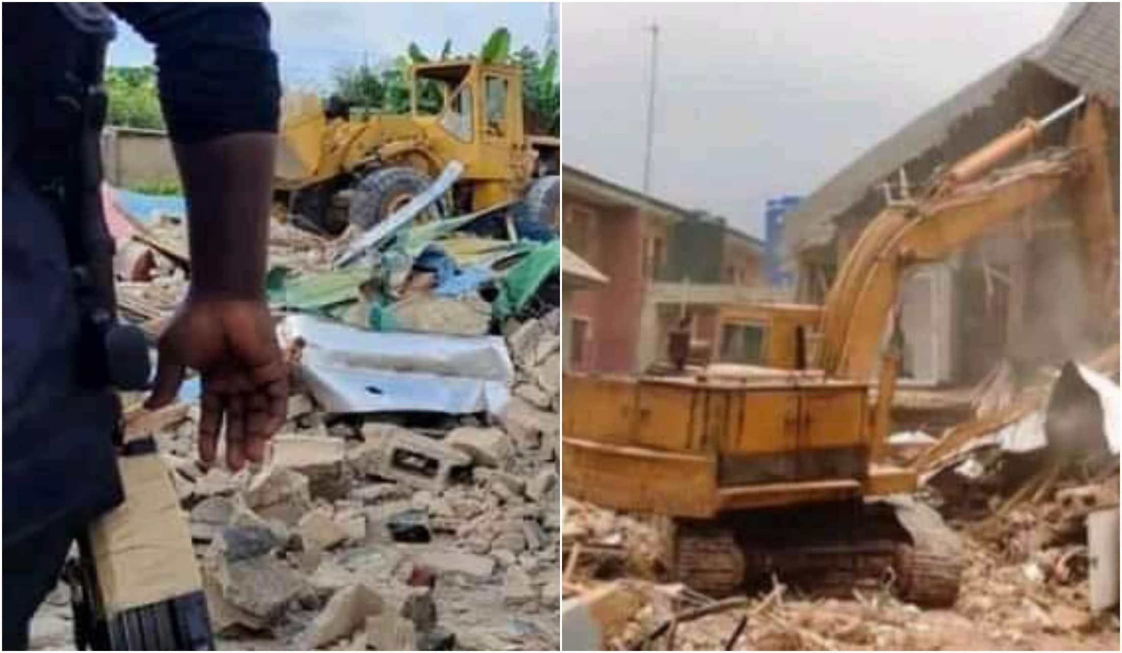 Nigerian airforce demolishes over 100 houses in Benue over 'land dispute'