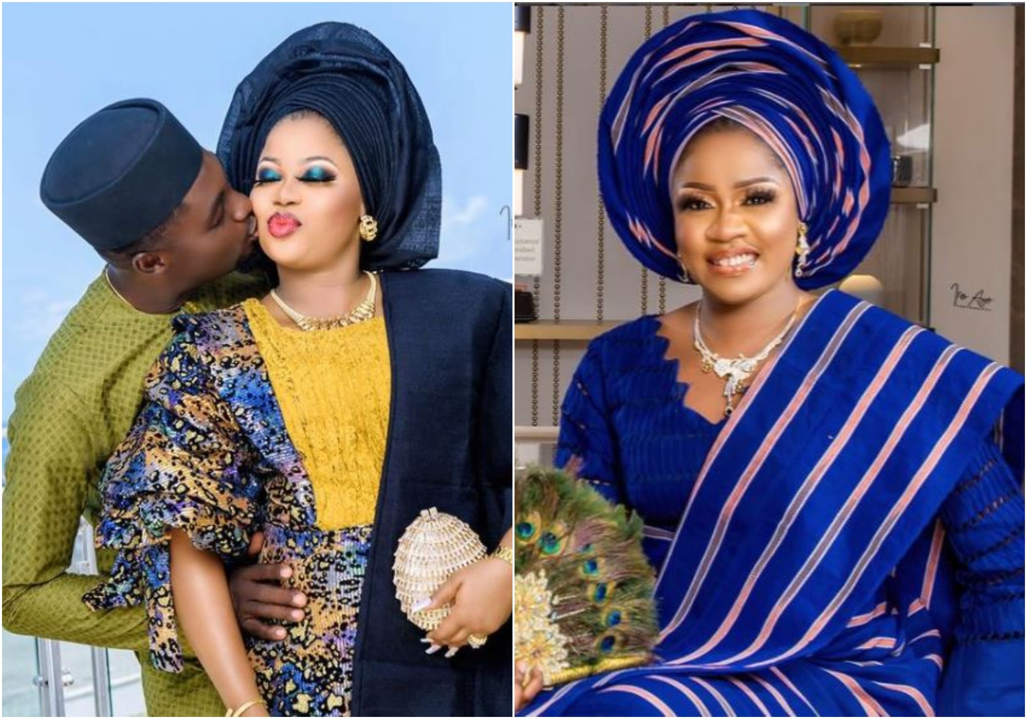 Olayinka Solomon appreciates Adeniyi Johnson and wife